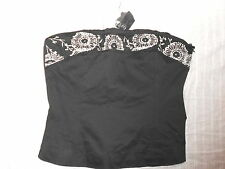 Unbranded Corset Sleeveless Bandeau Tops & Shirts for Women