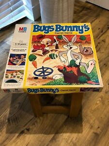 Vintage Rare Bugs Bunny Board Game. Milton Bradley (MB). Boxed/Complete. 1979