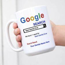 Personalized Dentist Mug Best Dentist Ever Customaized Name Mug Coffee Cup
