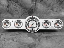 Universal 5 Gauge Billet Aluminum Street / Hot Rod Dash Insert Instrument Panel