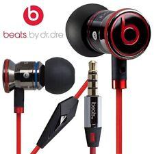 NEW Genuine Monster Beats by Dr. Dre iBeats In-Ear Headphones Earphones Black UK