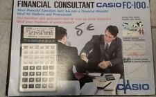 Calculatrice Casio NEUVE FC-100 FINANCIAL CONSULTANT