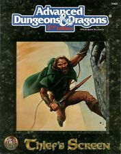 AD&D - THIEF SCREEN TSR 9463 official game accessory