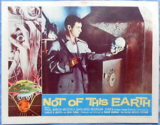 NOT OF THIS EARTH  Lobby Card Beverly Garland - Terrific 50s Science Fiction Art