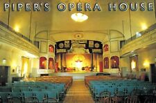 PIPER'S OPERA HOUSE, INTERIOR, VIRGINIA CITY, NEVADA Postcard!