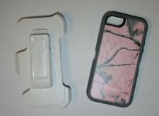 OtterBox Defender Rugged iPhone 5 iPhone Case w/Holster Belt Clip Pink Real Tree