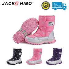 Alta al aire libre zapatos chicas invierno cálido botas impermeables niños bebé