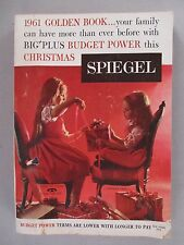 Spiegel CATALOG - Christmas, 1961 ~~ toy, toys