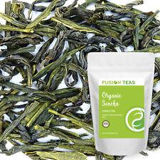 Sencha Green Tea - Organic Japanese Loose Leaf - Fusion Teas