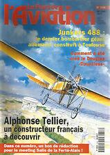 """FANA DE L AVIATION N°318 JUNKERS 488 / DOUGLAS """"DAUNTLESS"""" / ALPHONSE TELLIER"""