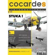 COCARDES international N°10 (revue maquettes avions) Stuka !