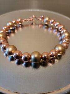 copper bead bracelet