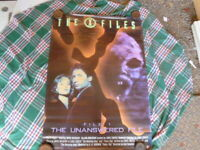 THE XFILES FILES 1 THE UNANSWERED 1  SHEET MOVIE POSTER AUST