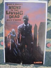 Night of the Living Dead Back From The Grave Necro-Black Foil Ltd 300 & Coa