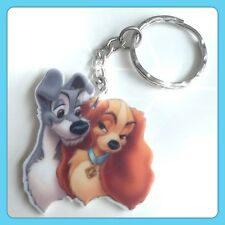 Disney Lady And The Tramp Theme Handmade Keyring Bag Charm For Gift Christmas #3