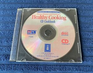 Better Homes And Gardens Healthy Cooking CD-ROM Cookbook PC & Macintosh 1994