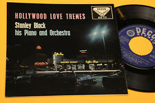 STANLEY BLACK EP HOLLYWOOD LOVE THEMES 1°ST ORIG UK DECCA TOP RARE