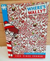 Where's Wally Christmas Party 1000 Piece Jigsaw, 2017 Paul Lamond Games Complete
