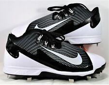 Nike Air Swingman Legend Black & White Metal Baseball Cleat Sz 11 NEW 807130 010