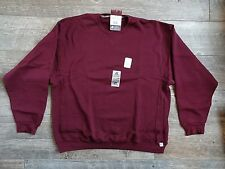 RUSSELL DRI-POWER Men's Crew Neck Sweatshirt  Burgundy  L, XL, XXL