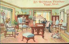 pc13627 postcard Hartman Advertising Nebraska postally used 1910