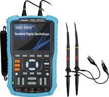 SHS806  Siglent 60MHz, 2 Channel Handheld DSO Oszilloskope 1GSa/s 2Mpts Speicher