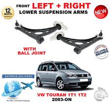 für VW Touran 2003- > VORNE UNTEN LINKS+rechts Querlenker Arme mit Kugelgelenk