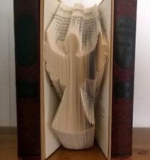 Angel Hand Folded Book Art Unique Birthday Christmas Mom Sister Friend Gift fun