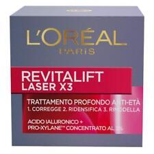 L'Oréal Paris Revitalift Laser X3 Crema Viso Antirughe Anti-Età, 50ml