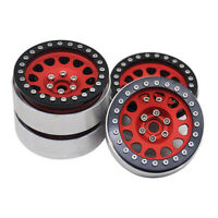 "Metal 2.2"" 1/10 RC Crawler Beadlock Wheel Rims for Axial Wraith RR10 SCX10 TRX4"