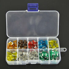 Lot 100 Assorted Car Mini Low Profile Fuse Box 5 7.5 10 15 20 25 30 A DIY Sales