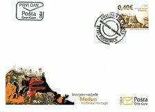 MONTENEGRO/2019 - (FDC-2) Historical Heritage (Castle, Architecture), MNH