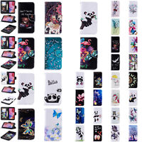 For Huawei Mate 10 P10 Lite P20 Pro Leather Wallet Card Holder Flip Case Cover