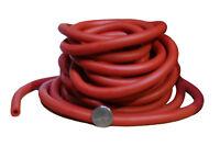 25 FT BULK MEDIUM RESISTANCE TUBING (RED) YOGA BAND EXERCISE TUBE 25 FEET LENGTH