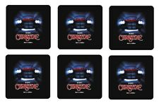 "CHRISTINE BEVERAGE COASTERS - 1/4"" BAR & BEER SET OF 6"