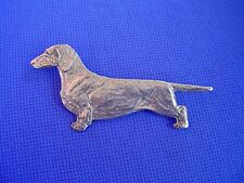 Dachshund Pin STANDING #18B doxie Hound Pewter Dog Jewelry by Cindy A. Conter