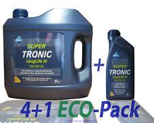 Aral Super Tronic Longlife 3 5W 30 4+1 Liter Motoröl VW 50400 / 507.00, BMW LL04