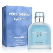 Light Blue Eau Intense By Dolce & Gabbana 3.4 Oz EDP SP. NIB Sealed Cologne Men