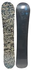 """WESTIGE """"WORDS"""" SNOWBOARD 155CM TRADITIONAL CAMBER ALL-MOUNTAIN"""