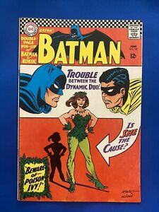 Batman #181 w/pin-up 1st Appearance Of Poison Ivy