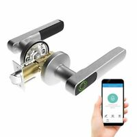 Turbolock TL88 Fingerprint Door Lock App Bluetooth Share eKeys Store Fingerprint