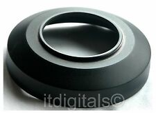 77mm Wide Angle Black Metal Lens Hood For 77mm Front Threads