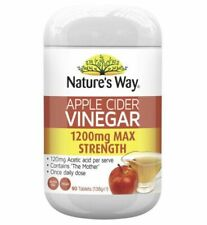 Nature's Way Apple Cider Vinegar 1200mg Tablets - 90 Count