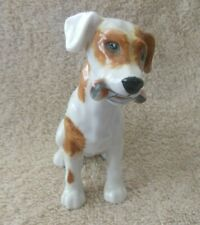 """Royal Doulton Dog Figurine 3.75"""" Character Dog With Bone In Mouth #Hn1159"""