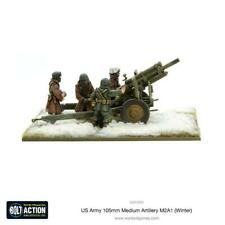 Bolt Action WWII US ARMY 105MM MEDIUM ARTILLERY M2A1 metal Warlord Games