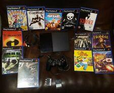 Sony Playstation PS2 Slim Konsole komplett mit Spielen, Konvolut