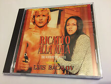RICATTO ALLA MALA / LA POLIZIA... (Bacalov) OOP Point Soundtrack Score OST CD NM