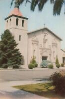 Postcard Mission Santa Clara California