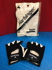 Harbinger 156-20 Women's Power Stretchback Weight Lifting Gloves - Black/White M