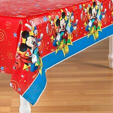 American Greetings Mickey Mouse Clubhouse Plastic Table Cover 54 in X 96 in PA